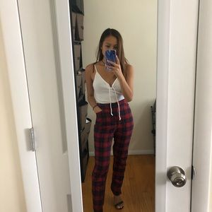 LF flannel pants
